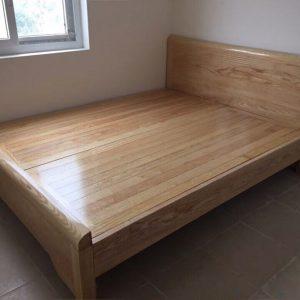 giường gỗ giá rẻ phản sồi Nga
