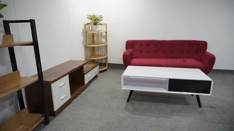 sofa văng màu hồng thanh lý